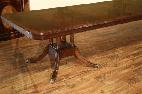 mahogany dining room tables custom american made mahogany dining room table
