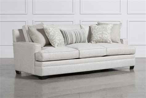 living spaces loveseat leslie sofa living spaces