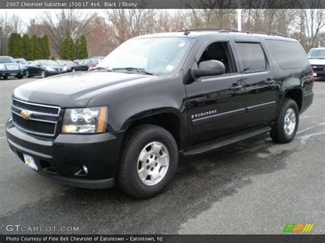 chevrolet suburban 2007 2007 chevrolet suburban 1500 lt 4x4 in black photo no