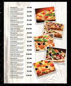 free pizza menu templates menu templates 28 free excel pdf psd documents