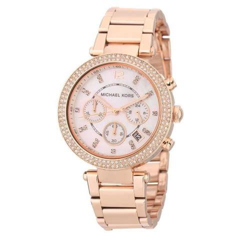 michael kors montre quartz mk5491 femme cuivr 233 chic achat vente montre soldes d 233 t 233 cdiscount