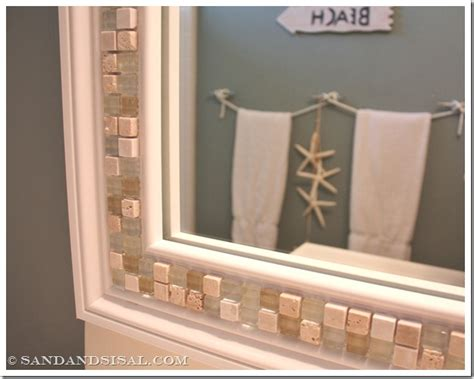 tile framed bathroom mirror 30 amazing diy decorative mirrors pretty handy girl