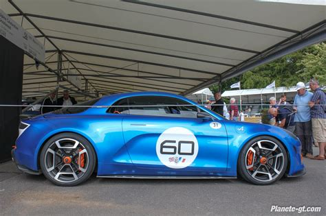 renault alpine celebration alpine celebration nos photos 224 goodwood plan 232 te gt com