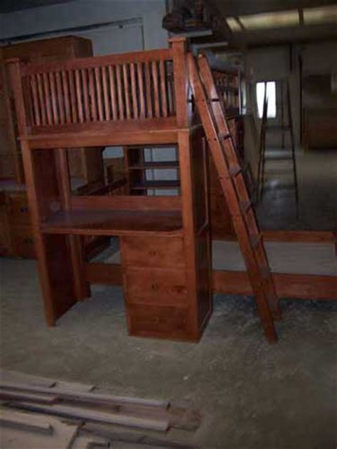 Amish Bunk Beds With Stairs Amish Made Bunk Beds My