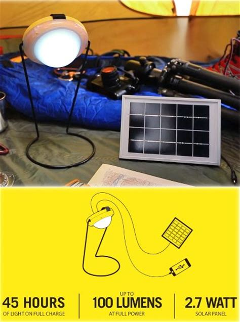 portable solar chargers for cing sun king pro portable solar charger and light the gadgeteer