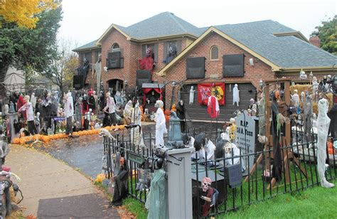 decorated homes for halloween petition supporting halloween house gets attention from