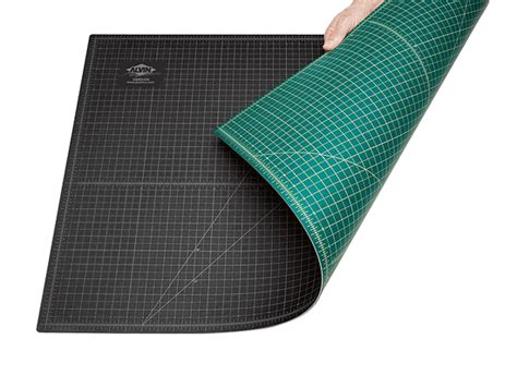 Large Cutting Mats by Alvin 4x8 Self Healing Large Cutting Mat With Grid Green