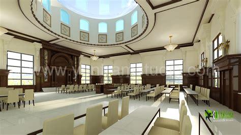Community Interior Design 3d interior design rendering for community