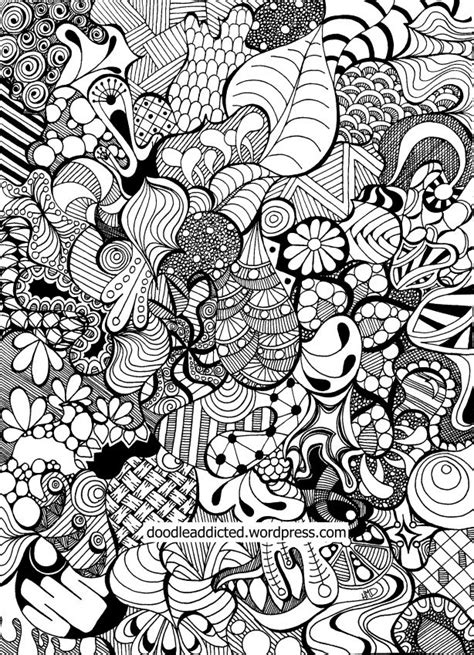 abstract pattern doodles tangled doodle art in time lapse coloring videos and