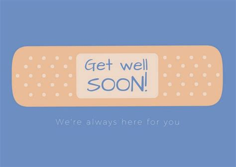 28 get well card template puffy clouds get well