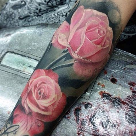 rosen auf unterarm t 228 towiert tattoos pinterest