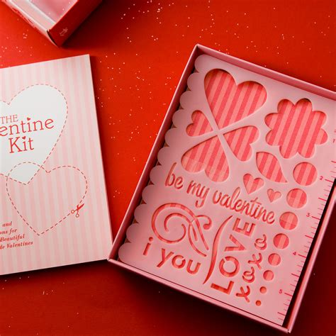 make your own valentines day cards the kit valentines day gifts