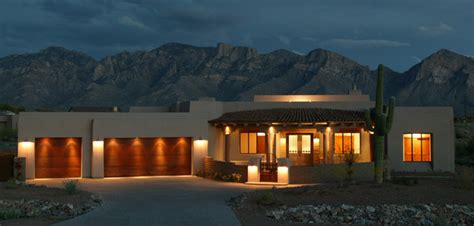 Insulated Room Dividers - santa fe style home oro valley az lot 77 contemporary exterior phoenix by weststarr