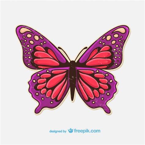 Clipart Farfalla by Grunge Farfalla Illustrazione Scaricare Vettori Gratis