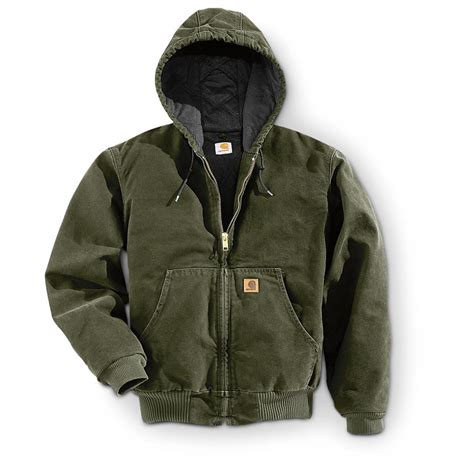 Sweater Hoodie Jaket Ducati carhartt s sandstone active jacket 227998 insulated jackets coats at sportsman s guide