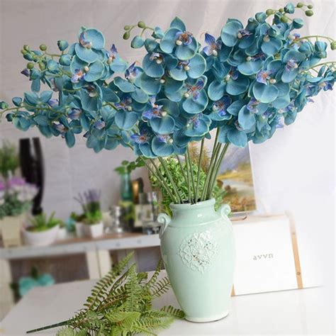 1pc diy gorgeous artifical butterfly orchid wedding