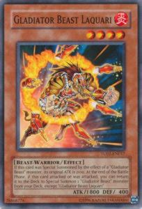 deck gladiatore bestia gladiatore bestia bestiari carta yugioh turbo pack