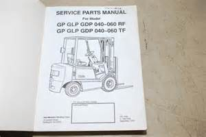 yale forklift service parts manual for gp glp gdp 040 060