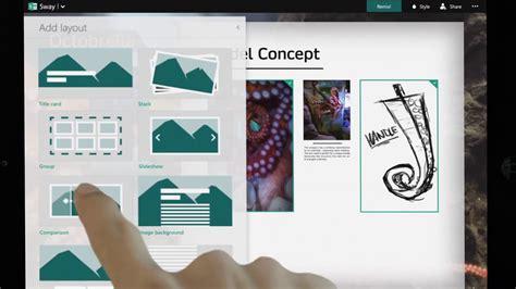The Sway microsoftの新プレゼンアプリ office sway では何ができるのか gigazine