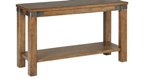 cherry wood sofa tables slate ridge sofa table cherry  city furniture  mattresses thesofa