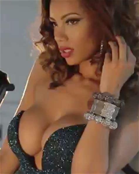 erica mena implants bow wow s ex fiancee erica mena gets breast implant