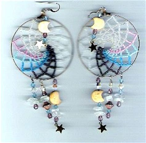 how to make a beaded dreamcatcher large beaded catcher earrings sova enterprises