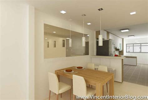 Small Corner Cabinets Dining Room by Yishun 5 Room Hdb Renovation By Interior Designer Ben Ng