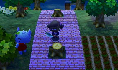 stump pattern new leaf special stumps animal crossing new leaf wiki