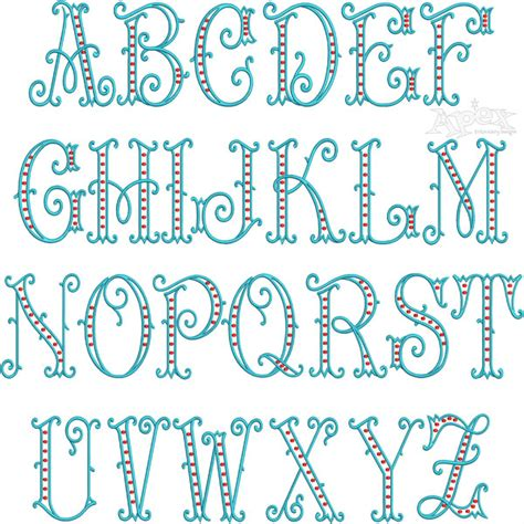 embroidery design fonts arabesque dots embroidery font