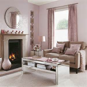 pink living room ideas shell pink living room with reflective accessories living room furniture housetohome co uk