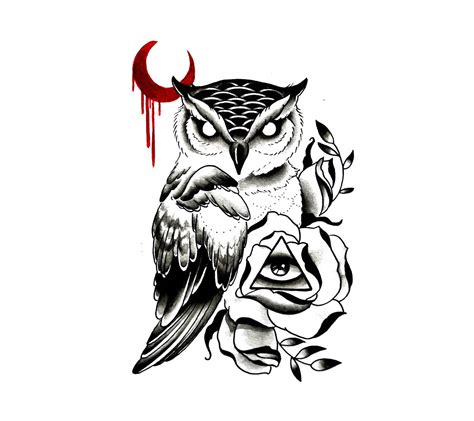 owl tattoo designs art illuminati owl design ideas