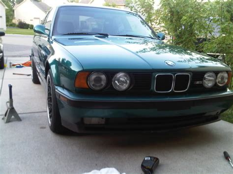 green bmw for sale lagoon green 1993 e34 bmw m5 for sale german cars