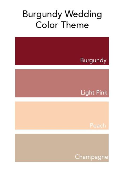 Colors That Go With Salmon by Best 25 Burgundy Wedding Colors Ideas On Pinterest