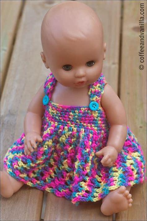 pattern crochet doll dress free pattern for this doll dress crochet dolls pinterest