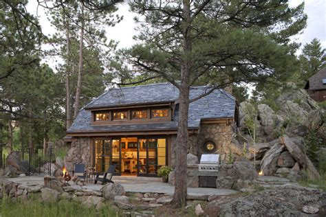 stone cottage in the woods wood and stone house exteriors charming rustic cottage inspired by fairy tales