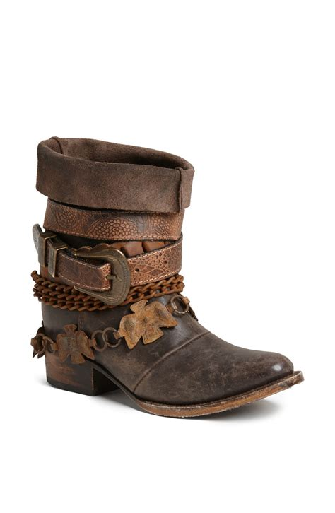 free bird boots freebird by steven yerba boot in brown lyst