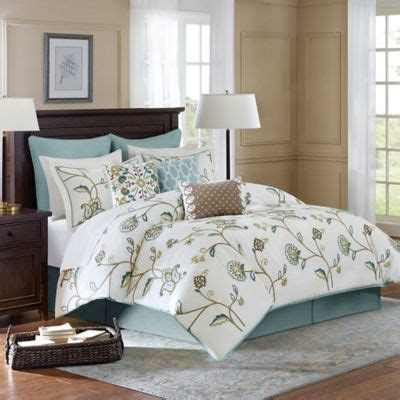 madison park vienna 7 piece comforter set buy madison park vienna 7 piece king comforter set from