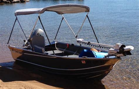 bimini top on tiller boat aluminum boat bimini tops bing images