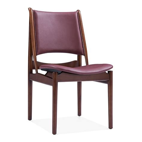 Dining Chairs Faux Leather Faux Leather Jonah Dining Chair Kitchen Chairs