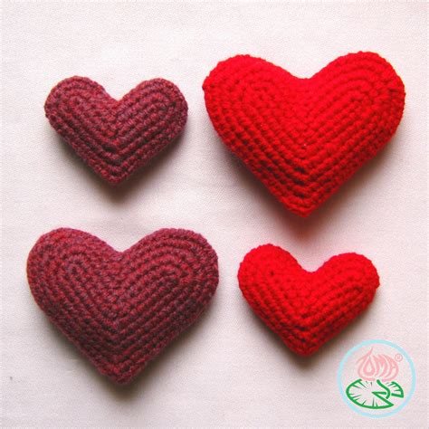 free pattern heart amigurumi free pattern crocheted heart toma creations