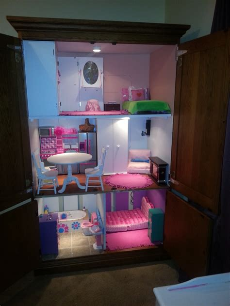 doll armoire for 18 inch dolls 18 inch doll house tv armoire doll house american girl