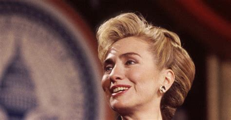 hillary clinton hairstyles through the years hillary clinton through the years 2017 posh hillary