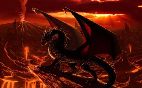 hd dragon  sunset wallpaper