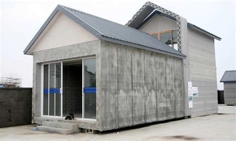 printing house chinese firm uses 3d printing to produce recycled houses