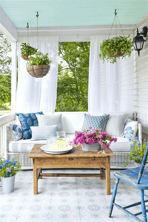 colorful front porch decorating ideas  summer