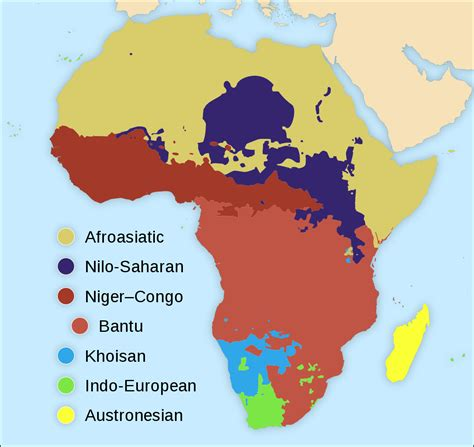 language no languages of africa