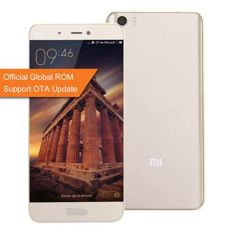 Xiaomi Mi 5 3 32 White Global Rom Garansi 1tahun official global rom xiaomi mi5 5 15inch 3gb 32gb smartphone gold
