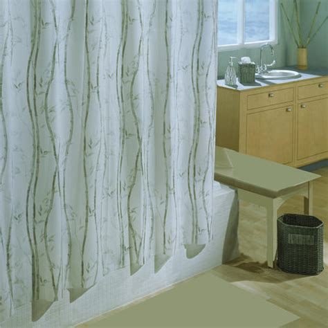 menards shower curtains excell bamboo shower curtain at menards 174