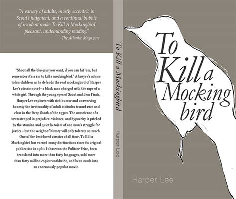book report on to kill a mockingbird to kill a mockingbird on behance