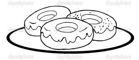 donut shop coloring pages flower page by welshpixie on